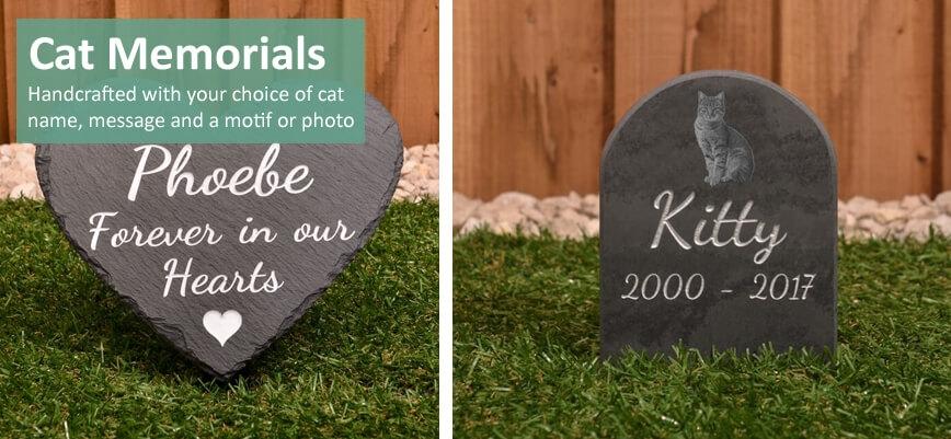 Memorials for cats
