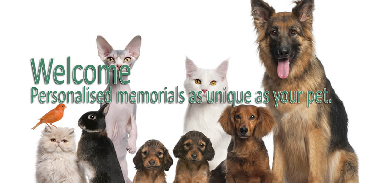 Pet memorials lovingly handcrafted in North Wales - click to shop